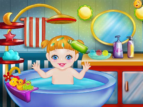 the bathtub game baby bath games for girls android apps on google play