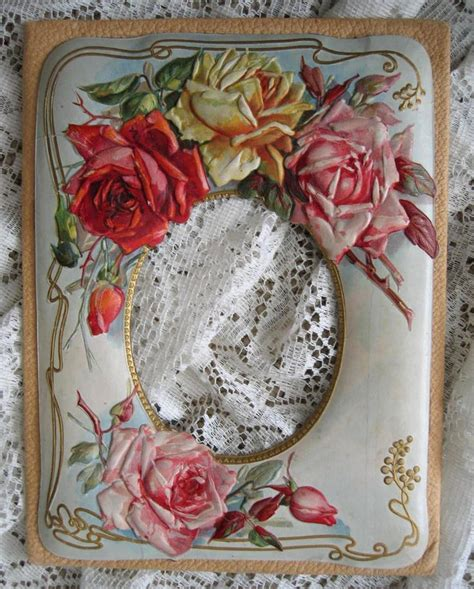 An Antique Notebook Cabbages Roses by 17 Best Images About Victoriana On Toast Rack