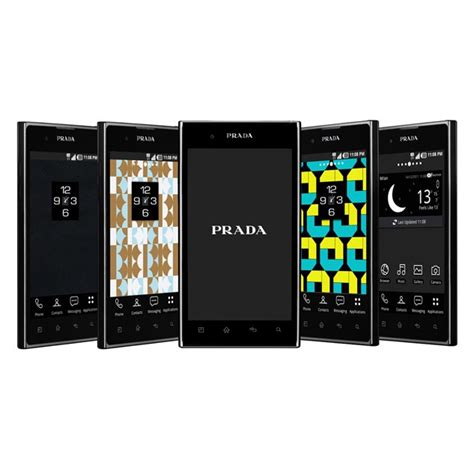 The Prada Phone By Lg by Prada Phone By Lg 3 0 Now Available In The Uk