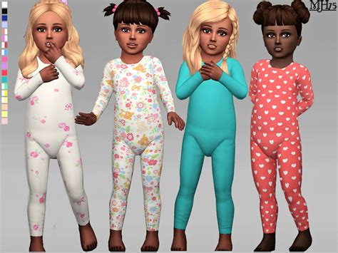 Kk Home Decor The Sims Resource Toddler Onesies By Margeh75 Sims 4