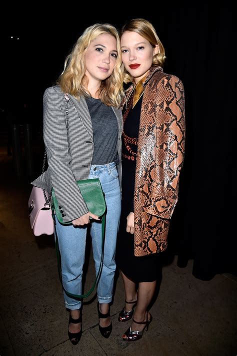 lea seydoux street style 2018 leather coat lookbook stylebistro