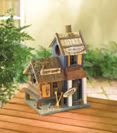 outdoor themed home decor bait shop birdhouse