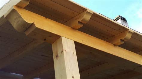 tettoia legno lamellare tettoia in legno lamellare