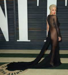 Vanity Fair Oscar Ora Risque After Going Knickerless To Oscars Bash We