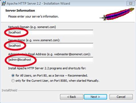 configure xp localhost 2011 w server 5 0 32 bit