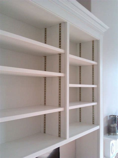 brass adjustable shelving system pantry