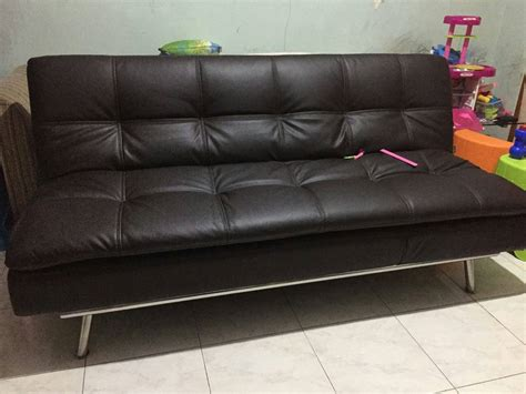 Murah Sofa Bed 5 In 1 Biru Tempat Tidur Dan Kursi informa furniture sofa bed brokeasshome