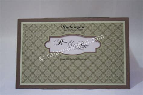 Kartu Undangan Pernikahan Soft Cover 1 Warna 22 undangan pernikahan softcover lia dan doni