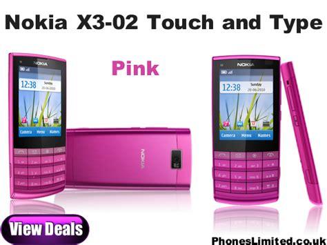 Casing Nokia X3 02 pink nokia x3 02 nokia x3 touch type pink payg deals