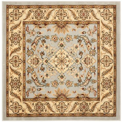 5 foot square rug safavieh lyndhurst gray beige 5 ft x 5 ft square area rug lnh211g 5sq the home depot