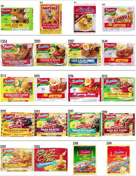 Produk Eskrim Camilo Rasa Lengkap jelajahunik ini dia produk mie instant yang ada di indonesia lengkap