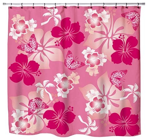 Eco Friendly Hawaiian Quot Aloha Pink Quot Hibiscus And