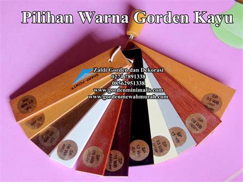 Gorden Unik warna gorden kayu gorden kayu wooden blind krey kayu