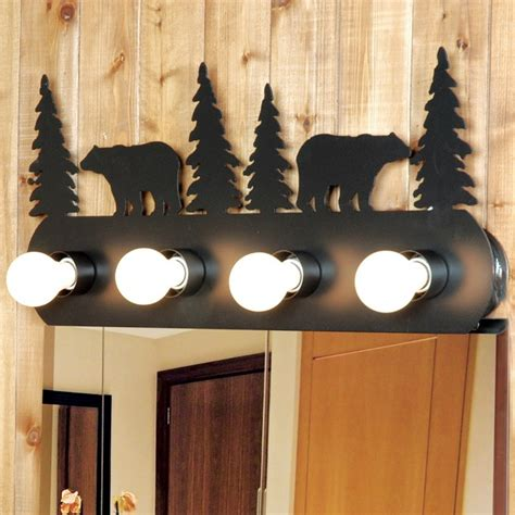 rustic bathroom light fixtures rustic rustic vanity light fixture 4 light