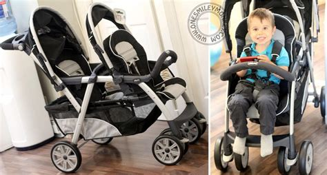 Double Stroller Giveaway - chicco cortina together double stroller review giveaway