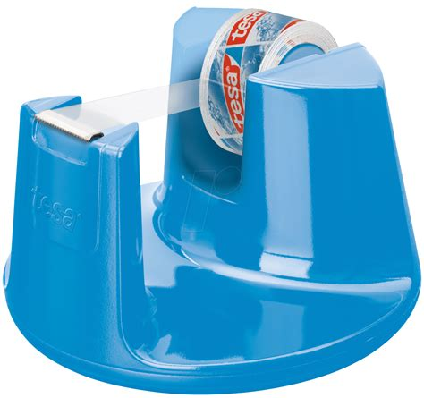 Elektronik Dispenser tesa 53825 tesa desktop dispenser blue up to 33 m x19 mm at reichelt elektronik
