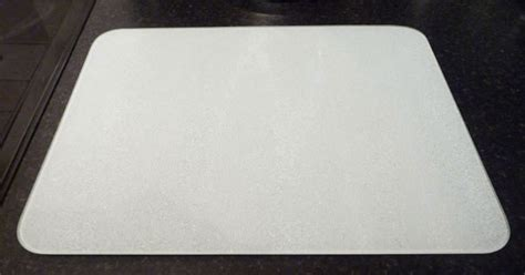 Plastic Board 90cm X 30cm White new tuftop white glass chopping board kitchen worktop saver protector trivet wsp ebay