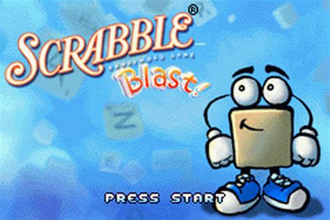 play free scrabble blast play scrabble blast nintendo boy advance