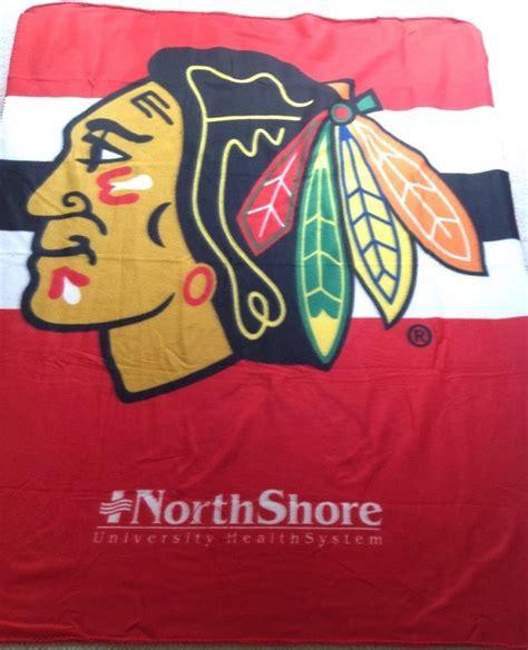 Chicago Blackhawks Giveaways 2014 - december 29 2014 chicago blackhawks fleece blanket