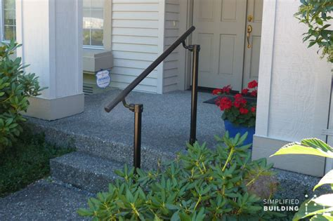 exterior banister 14 exterior handrail ideas simplified building