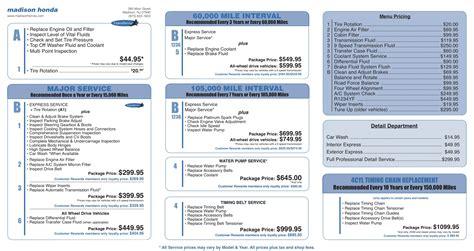 Bmw 2020 Model Year Schedule by Honda Crv Maintenance Schedule 2020 Top Car Models