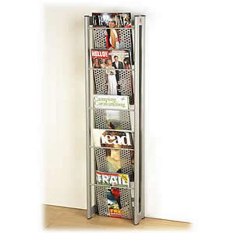 Wall Mounted Magazine Rack Uk by Magpod Wall Mounted Magazine Rack