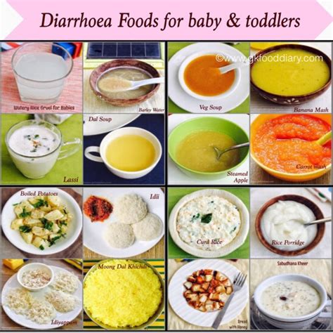 diarrhea diet diarrhea foods for babies toddlers with recipes foods to offer during