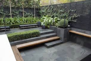 small city garden design in kensington designed by award winning declan buckley