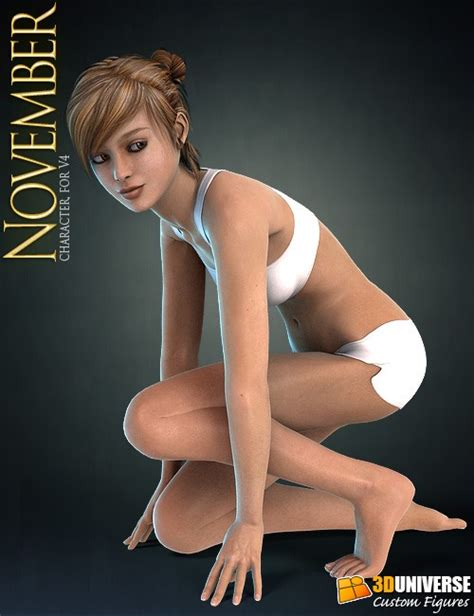 free models daz studio character november character for v4 187 best daz3d poses download site