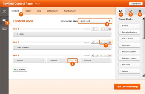 orange themes page builder page builder themeburn