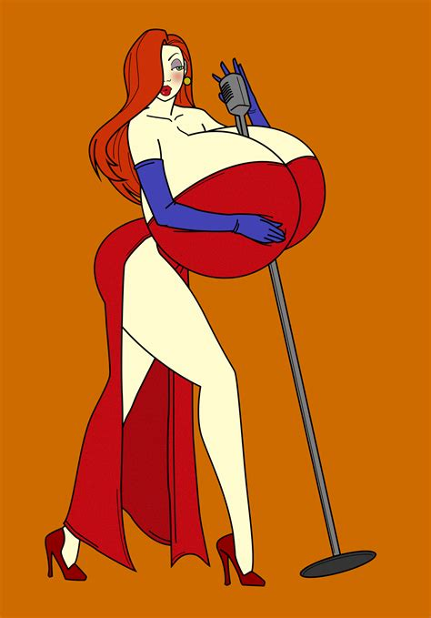 Jessica Rabbit Breast Curvy