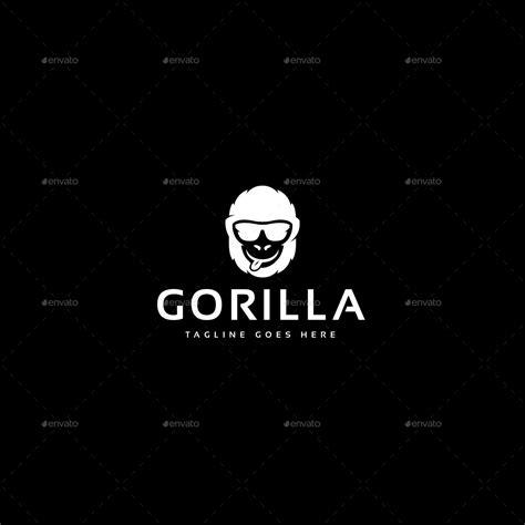 gorilla logo template  designgarrad graphicriver
