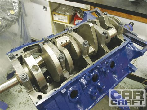 hp  boss ford engine build hot rod network