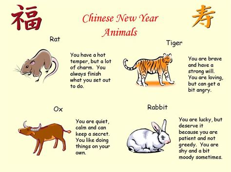 new year animal traits 10 images about new year on paper