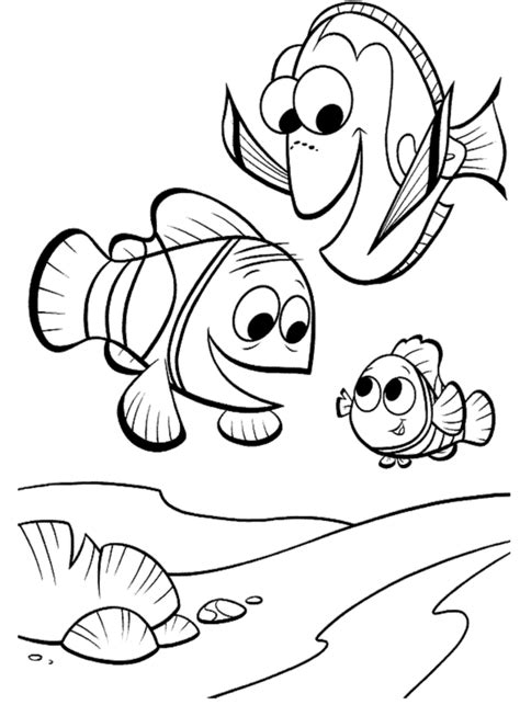 coloring pages finding nemo free printable nemo coloring pages for kids