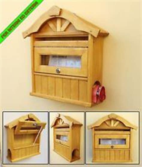 cassetta lettere legno cassetta posta legno in vendita ebay