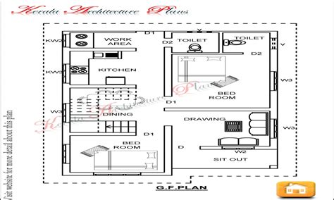 3bhk House Design Plans | 3 bedroom open floor plan 3 bedroom house plans 1200 sq