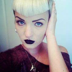 triangle bangs 1000 images about love black lipstick on pinterest
