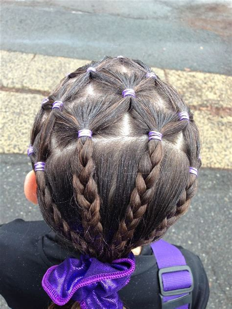 gymnastics hairstyles for fine hair best 25 gymnastics hair ideas on pinterest gymnastics