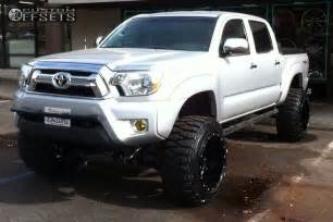 2013 Toyota Tacoma Lift Kit 2013 Toyota Tacoma Fuel Hostage Fabtech Suspension Lift 6in