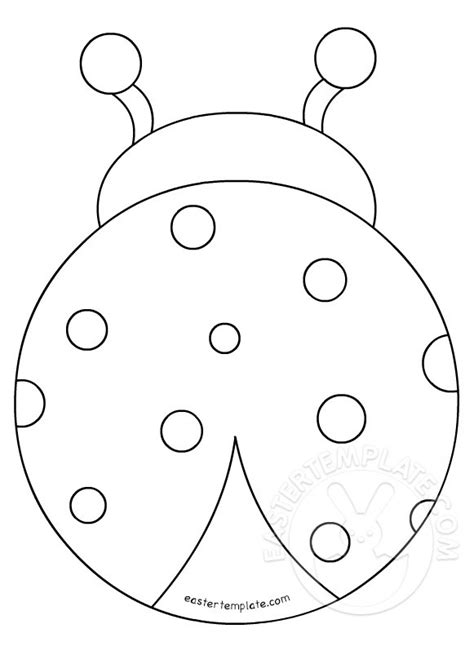 ladybug outline related keywords ladybug outline long