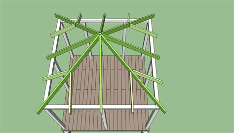 How To Build A Hip Roof On A Porch high resolution building a gazebo 7 how to build a hip roof gazebo bloggerluv
