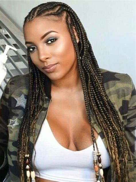 Black Braid Hairstyle by Best 25 Black Braided Hairstyles Ideas On