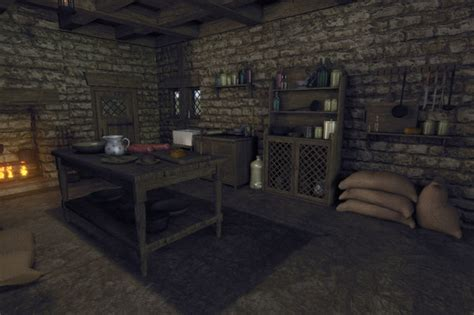 Medieval House Interior 1 By Sdturner On Deviantart