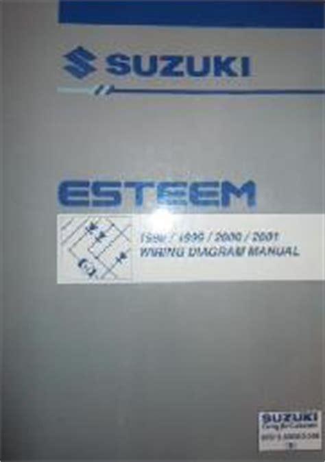 how to download repair manuals 1998 suzuki esteem transmission control 1998 2001 suzuki esteem factory wiring diagrams manual