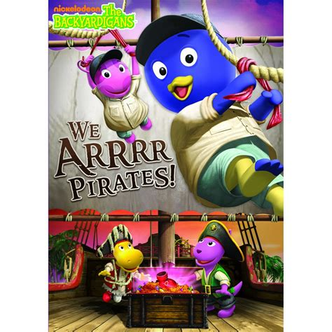 Backyardigans Pirate Song The Backyardigans We Arrrr Dvd Review And
