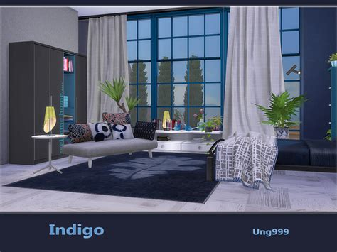 sims 4 schlafzimmer indigo bedroom by ung999 at tsr 187 sims 4 updates