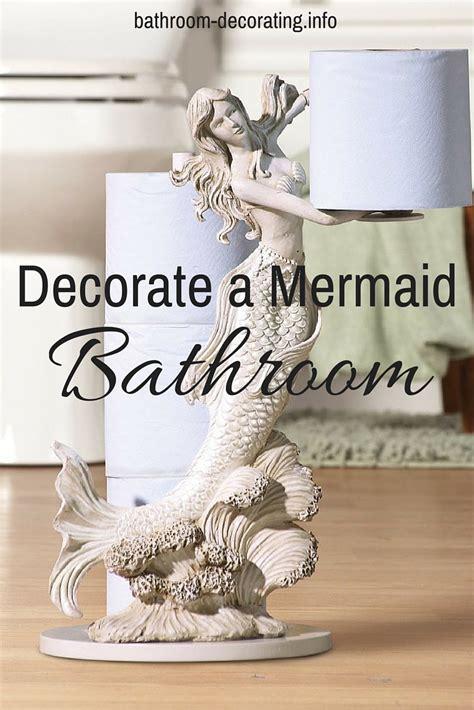 mermaid decor for bathroom decorate a mermaid bathroom