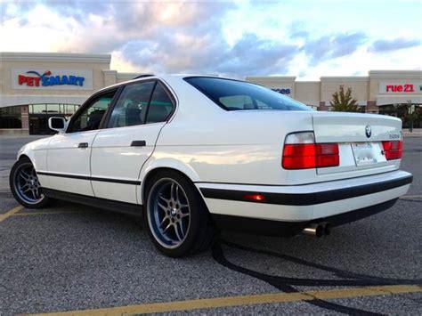 bmw 535i 1990 for sale for sale 1990 bmw 535i e34 sedan manual trans alpine white