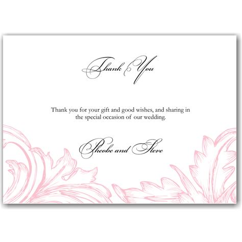 what to write on a wedding wishing well budget wedding invitations thank you cards damask pink